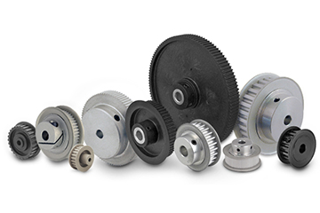 Manufacturers of sprockets, gears, worm reducers, electric motors, pulleys, taper bushes, geared motors, brake motors, forged bevel gears, agricultural chains, suppliers, exporters in China. Timing pulleys