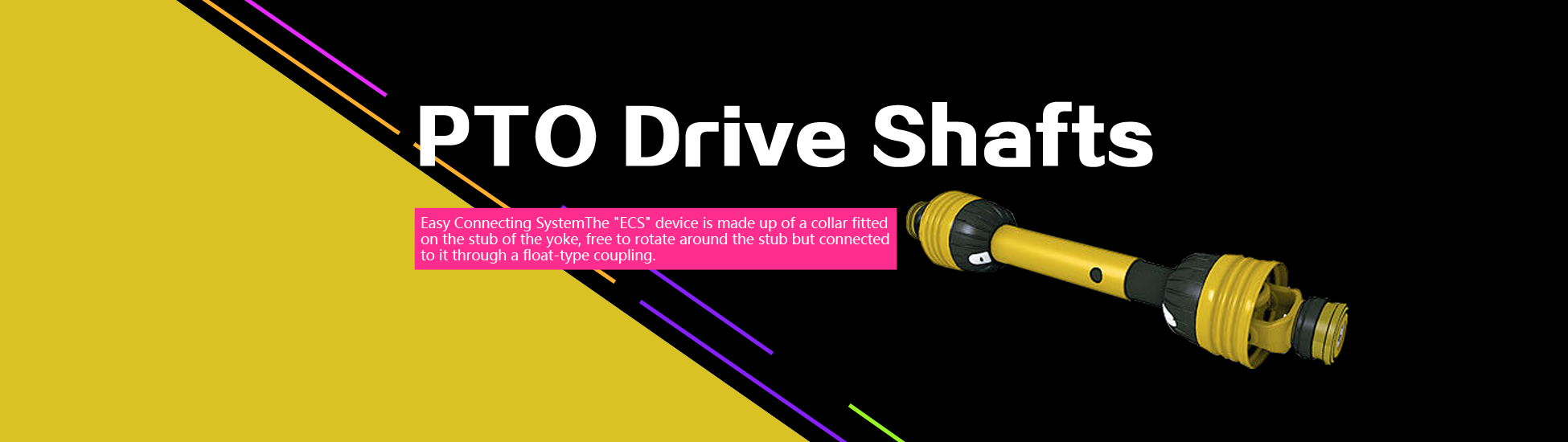 PTO drive shafts china manufacturers