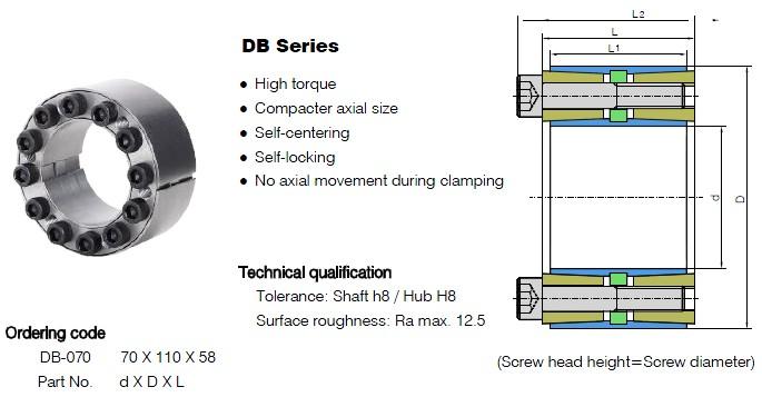 DB Series Locking Assemblies