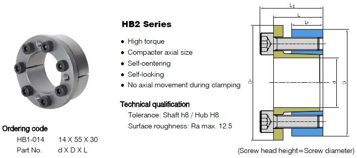 HB2 Series Locking Assemblies