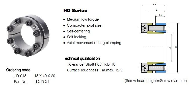 HD Series Locking Assemblies