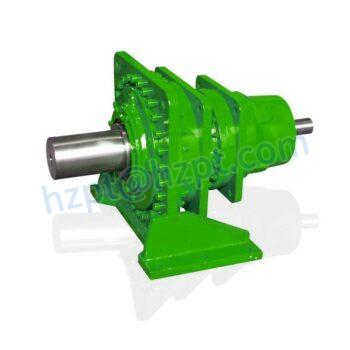 Planetary Gearbox Planet Gear Speed Reducers double shaft planetary gearboxes with foot dimensions